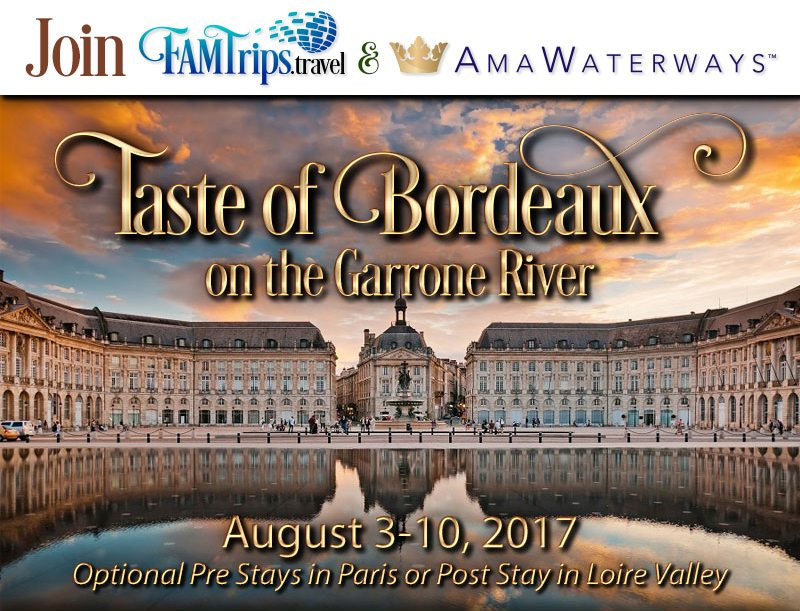 Bordeaux 2017 River Cruise!