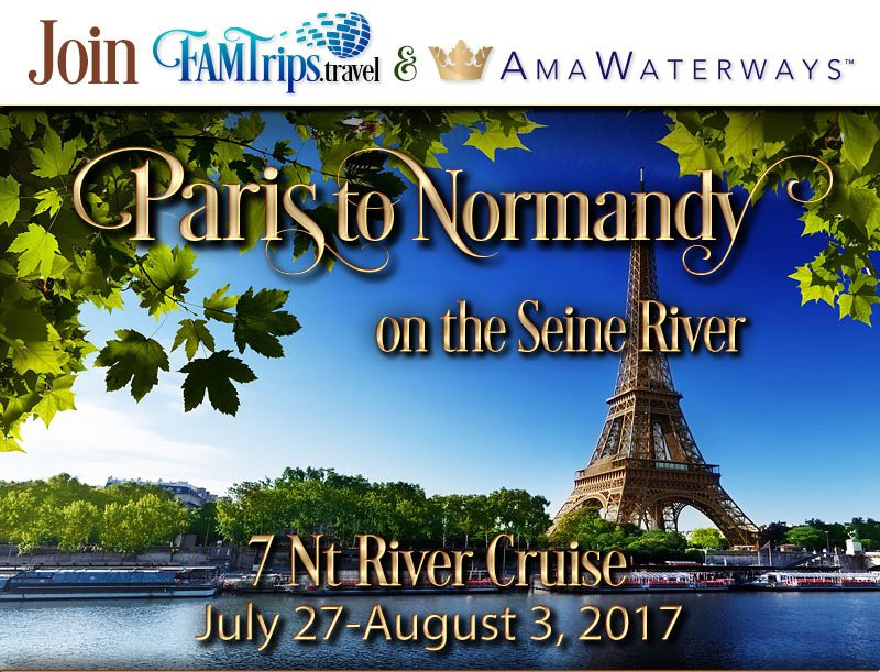 Paris to Normandy 2017 River Cruise!