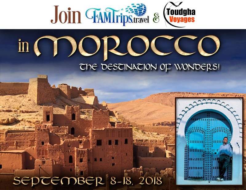 Morocco – Destination of Wonders Tour 2018!