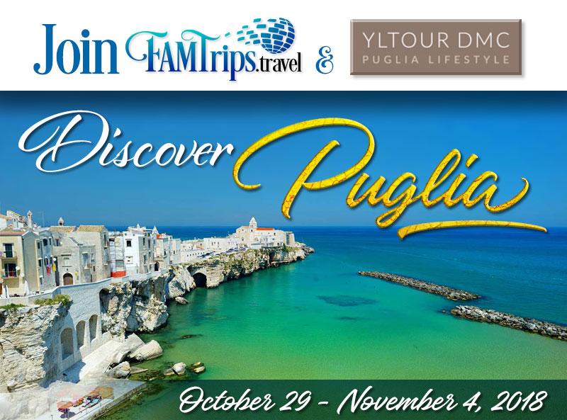 Discover Magnificent Puglia 2018!
