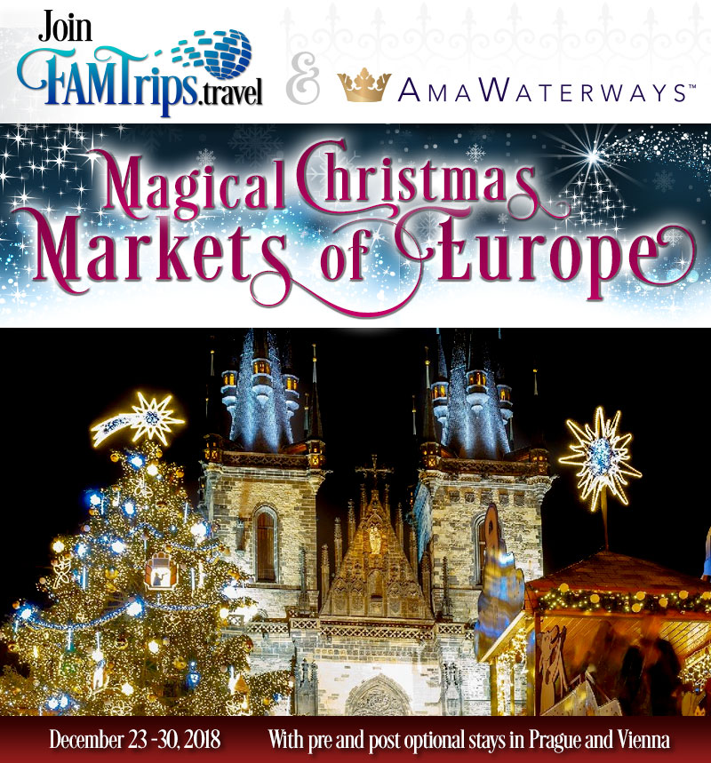 Magical Christmas Markets of Europe Cruise 2018!
