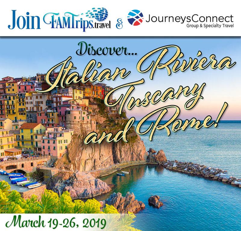 Italian Riviera, Tuscany & Rome 2019!