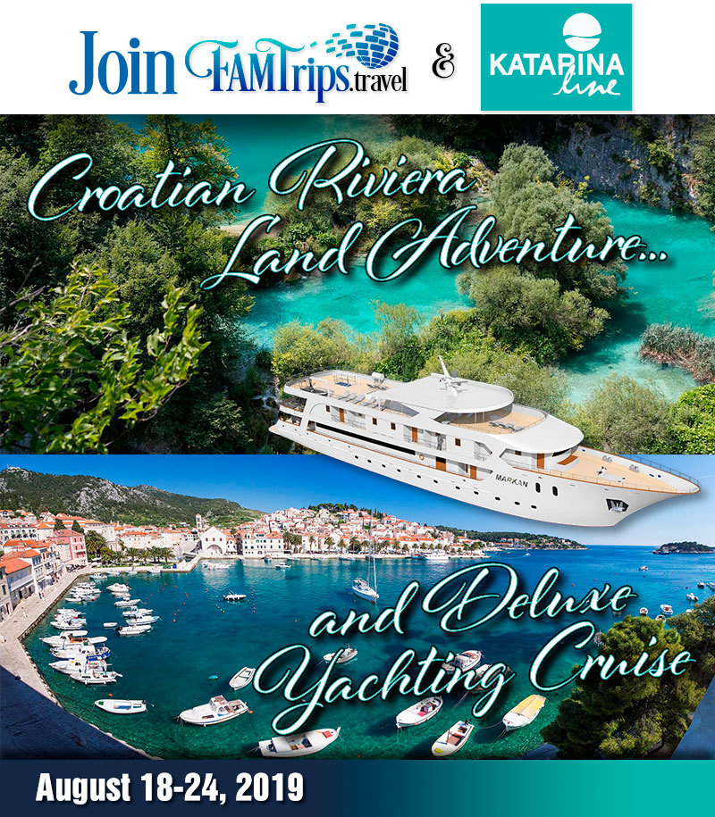 Croatian Riviera Land Adventure and Deluxe Yachting 2019!