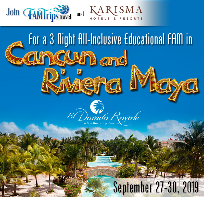 Karisma Cancun and Riviera Maya all Inclusive – Sept!