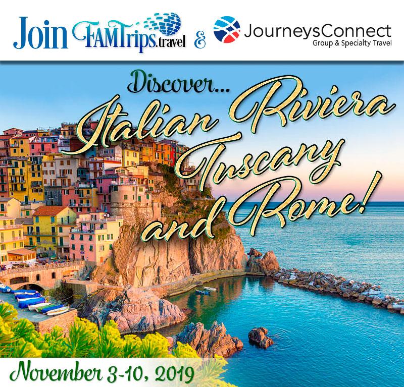 Italian Riviera, Tuscany & Rome Fall 2019!