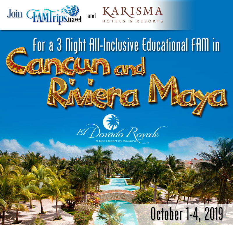Karisma Cancun and Riviera Maya all Inclusive – Oct!