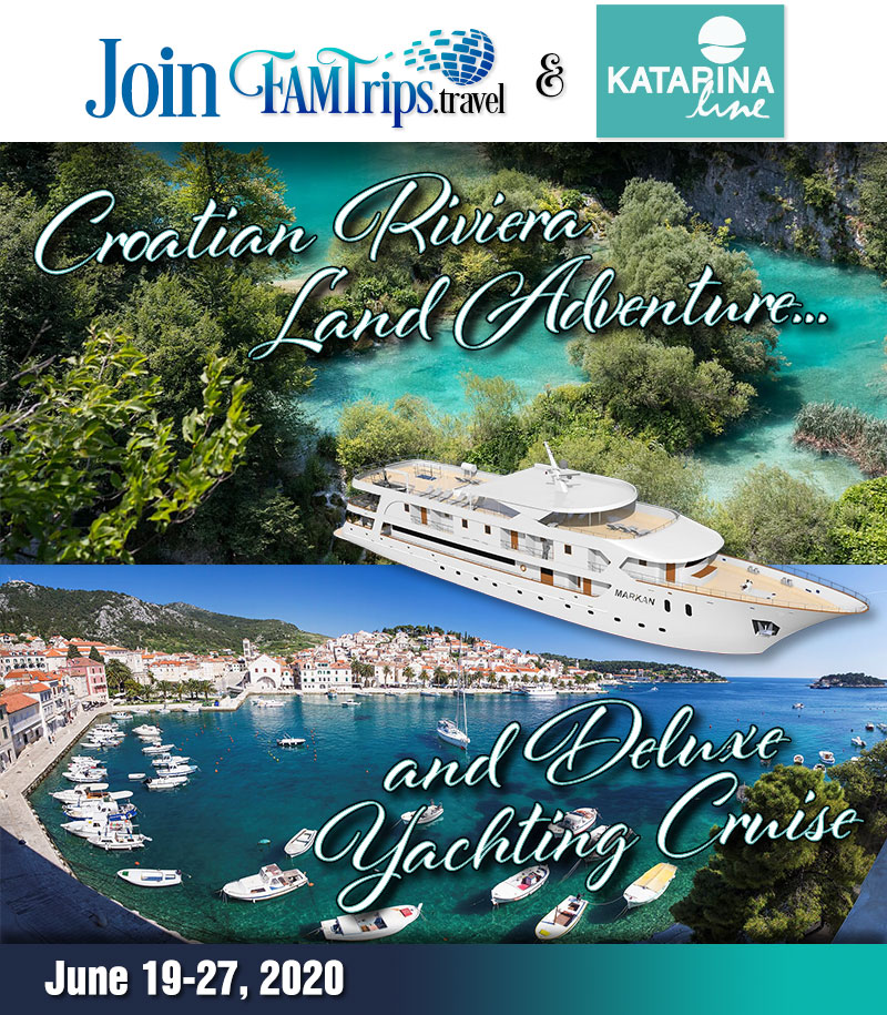 Croatian Riviera Land Adventure and Deluxe Yachting 2020!