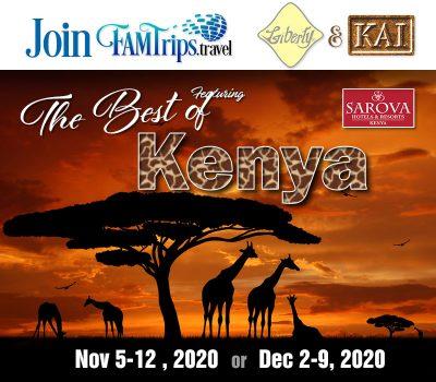 The Best of Kenya Nov or Dec 2020!